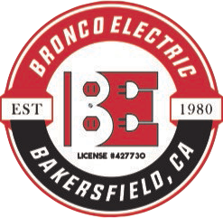 Bronco Electric Logo.
